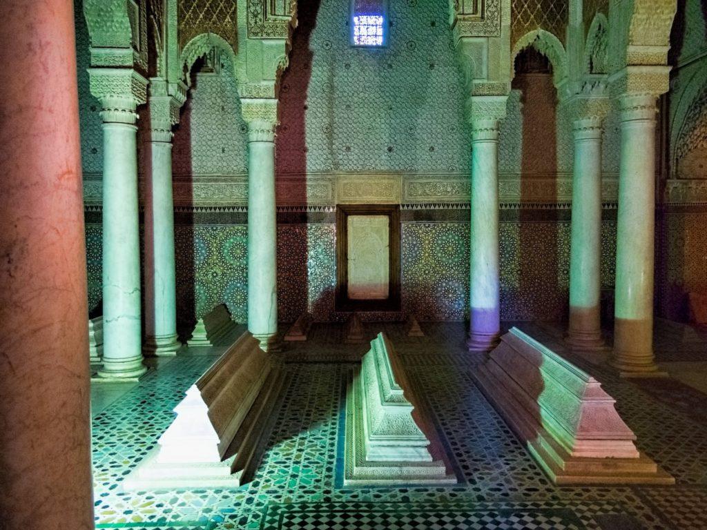 saadian tombs marrakech morocco